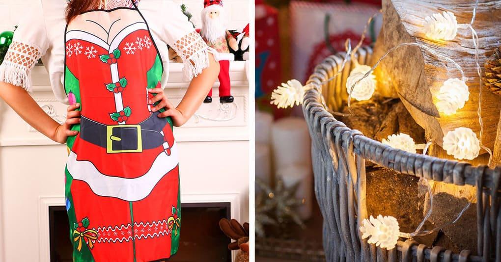 10 festliche Produkte für Neujahr von AliExpress zur Dekoration des Hauses und zur Schaffung einer festlichen Atmosphäre