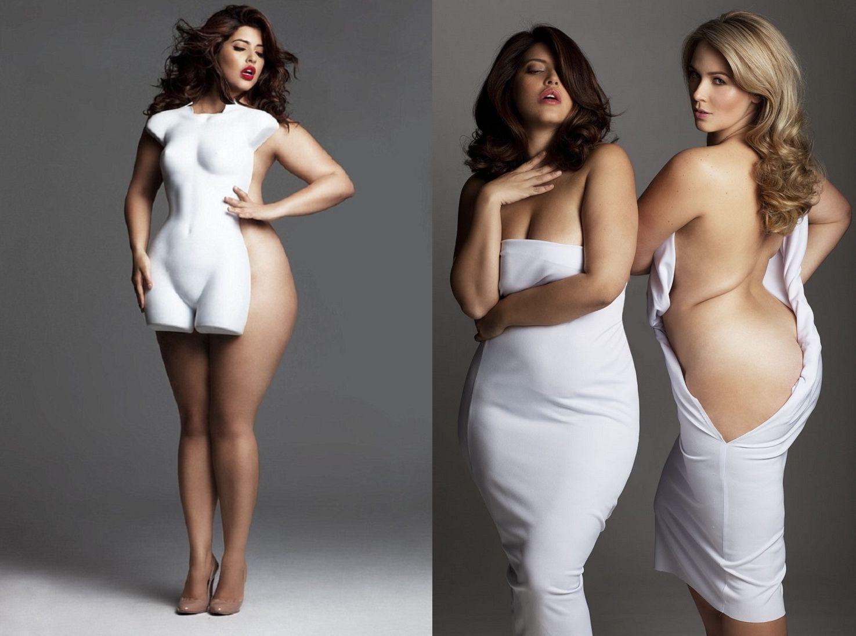 Und wer hat gesagt, dass die Frauen immer sehr schlank sein müssen, um schön zu sein ?