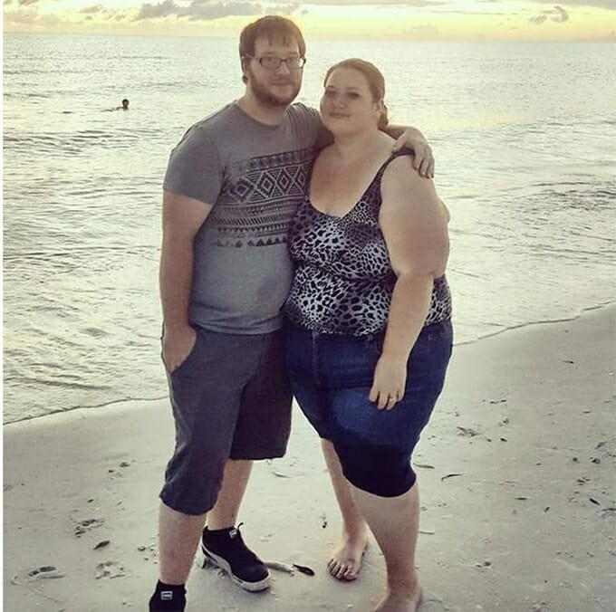 Gemeinsam abgespeckt: Dieses Paar verliert mehr als 400 Pfund