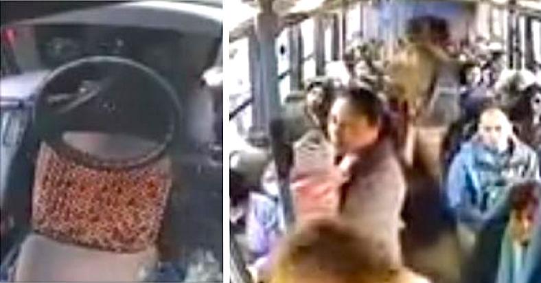 Niemand im Bus steht für die Frau mit Baby auf, doch dann macht der Busfahrer DIES!