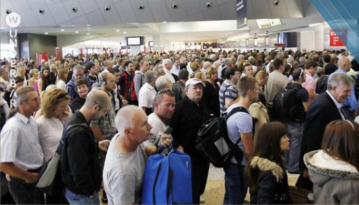 Flughafenangestellte trauten ihren Augen nicht, als sie sahen, was er in seiner Hose tragen wollte