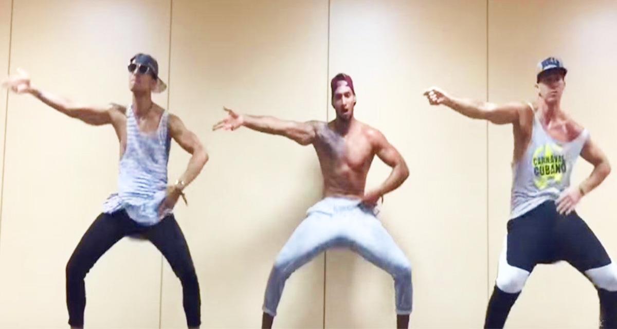Viele sagen, dass Männer nicht tanzen ... Aber, man muss es nur sehen!