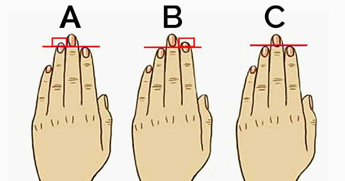 Das sagt die Länge der Finger über den Charakter aus – und bei Ihnen?