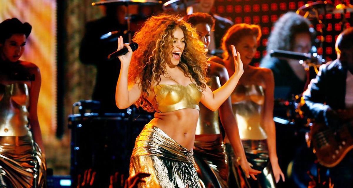 Einfach super! Shakira tanzte in Marokko einen Bauchtanz auf der Bühne!