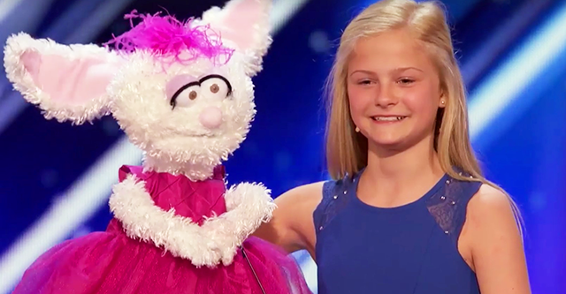 Das Mädchen mit dem Hasen trat auf die Bühne, die Jurys erwarteten keine ernsthafte Vorstellung, aber als die Nummer begann, waren alle erstaunt