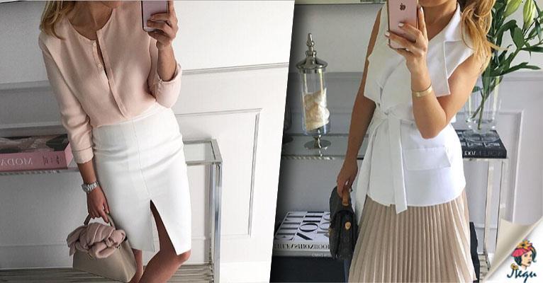 Aristokratischer Minimalismus: 12 zu stilvolle Varianten mit Röcken