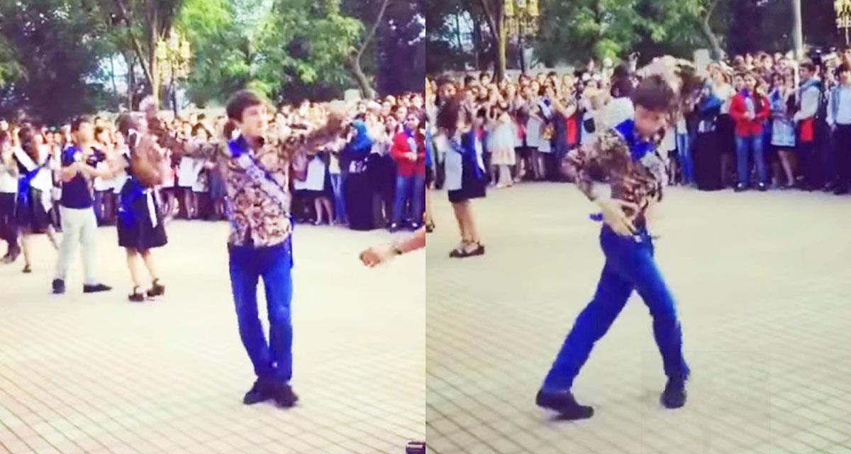 Dieser Typ tanzte so gut, dass er das ganze Netzwerk eroberte! Gut gemacht!
