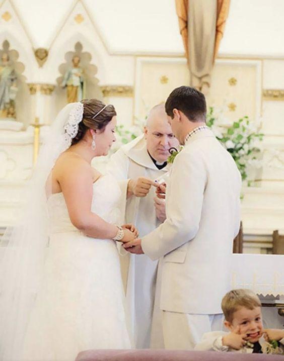 20 subtil ruinierte Hochzeitsfotos.