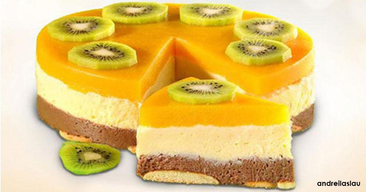Milchschokoladenkuchen - ein wunderbares und nützliches Wunder ohne Backen
