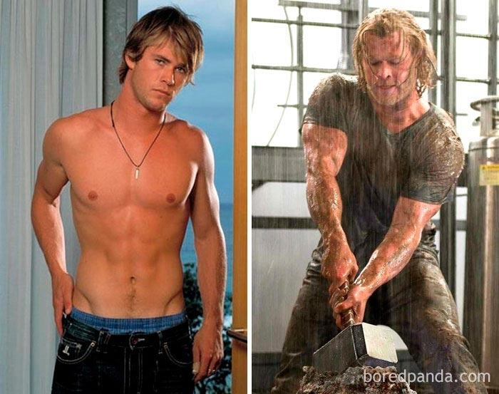 25 Schauspieler, die ihren Körper bis zur Unkenntlichkeit verändern konnten. Das ist die Auswirkung der Arbeit!