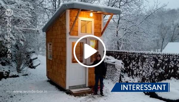 13-Jähriger baut sein eigenes Häuschen im Garten – ein Blick ins Innere und wir sind verzaubert