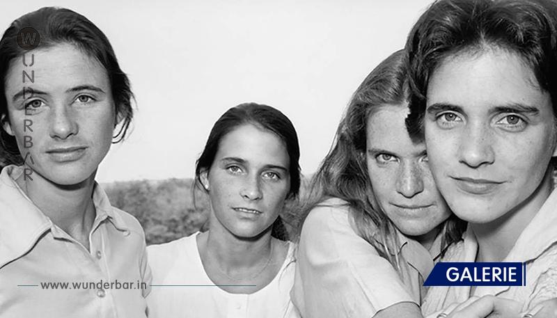 4 Schwestern haben einmal im Jahr ein gemeinsames Foto gemacht. So haben sie sich in 40 Jahren verändert!