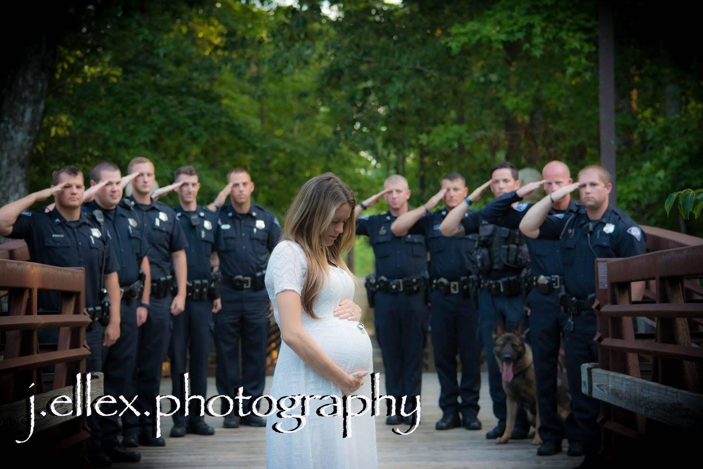 Eine schwangere Frau nahm an einem Fotoshooting teil. Als ich sah, dass sie an ihrem Hals trug...
