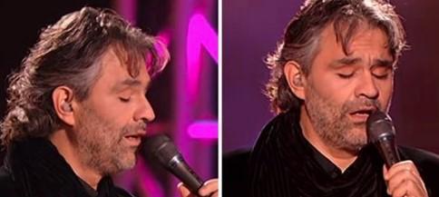 Andrea Bocelli singt einen Klassiker von Elvis Presley und bringt das Publikum zum Weinen