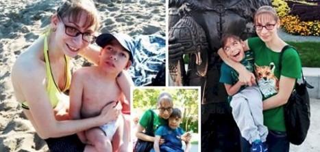 Eine alleinerziehende Mutter, die sich den Rollstuhl für ihren behinderten Jungen nicht leisten konnte, nahm sich und ihrem Jungen das Leben