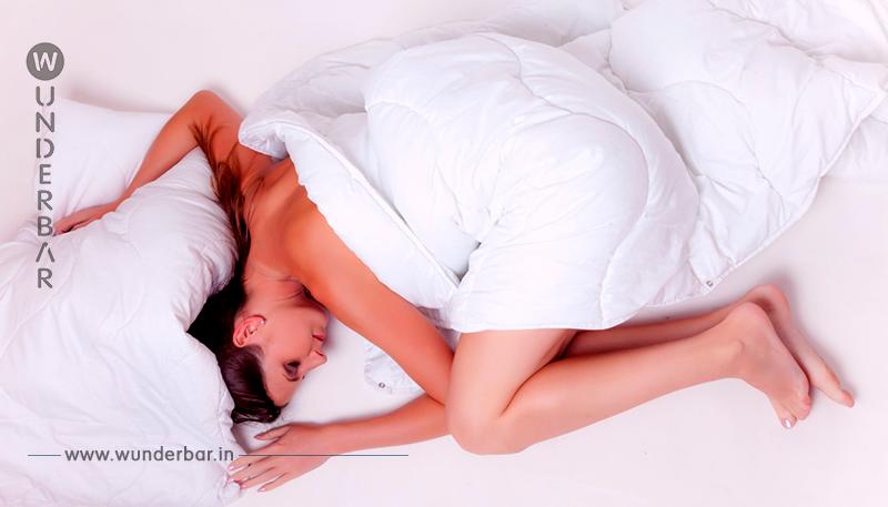 Wenn du heute nackt einschliefst, wird das morgen mit deinem Körper geschehen!