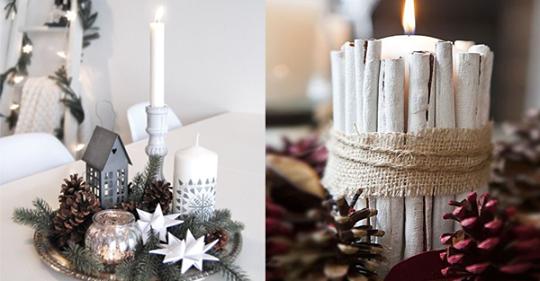 12 weiße rustikale Dekorationen, die prächtig in Ihrem Haus stehen werden.