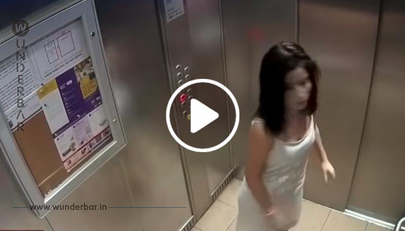 Eine Frau schlug sich selbst ins Gesicht, um ihrem Mann häusliche Gewalt vorzuwerfen
