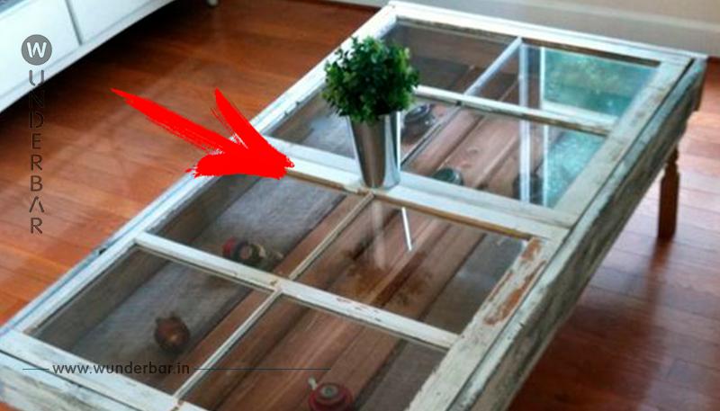 Dieser Vater zaubert alte Fenster in fantastische Kreationen für Zuhause um!