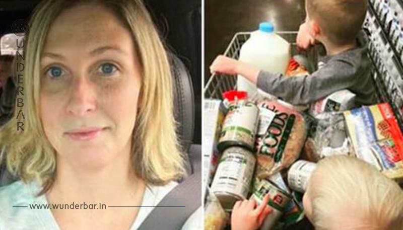 Älterer Mann konfrontiert junge Mutter in Supermarkt – seine Worte bleiben für immer im Gedächtnis