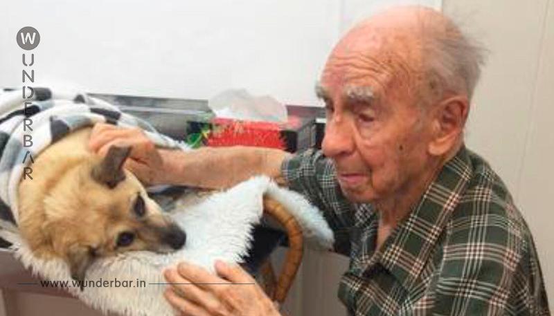 Ein 95 Jähriger ist gezwungen, sich von seinem einzigen Freund zu verabschieden