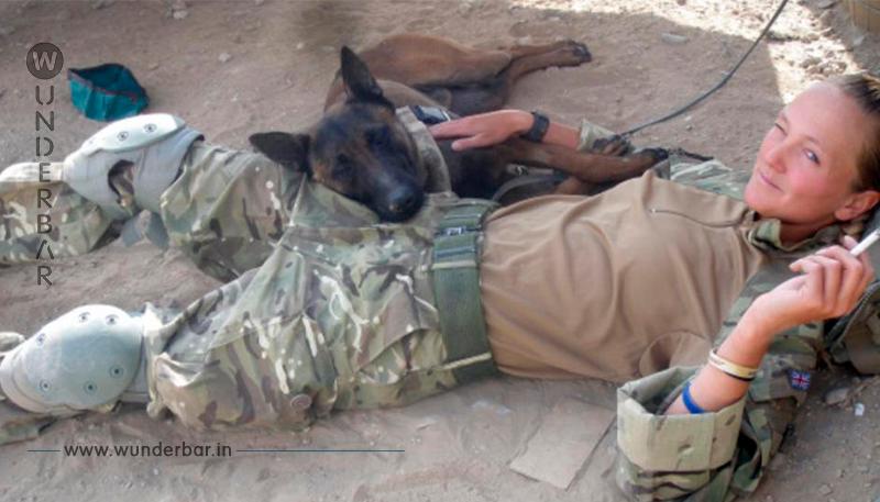 Helden Hunde der Briten Armee sind gerettet!