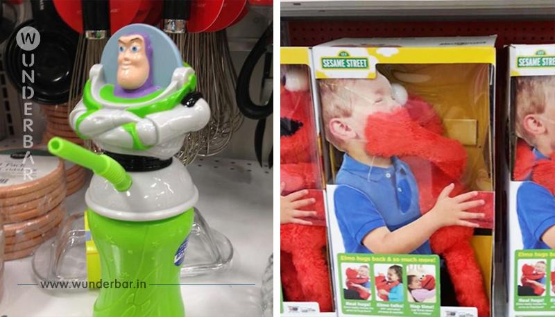 15 unglücklich designte Spielzeuge.