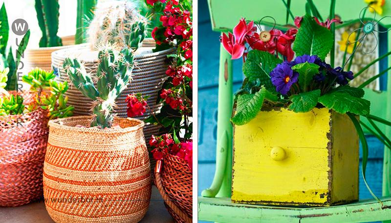 Auf der Suche nach einem trendy Blumentopf für den Garten..? 11 Blumentopf/Gefäß-Ideen!