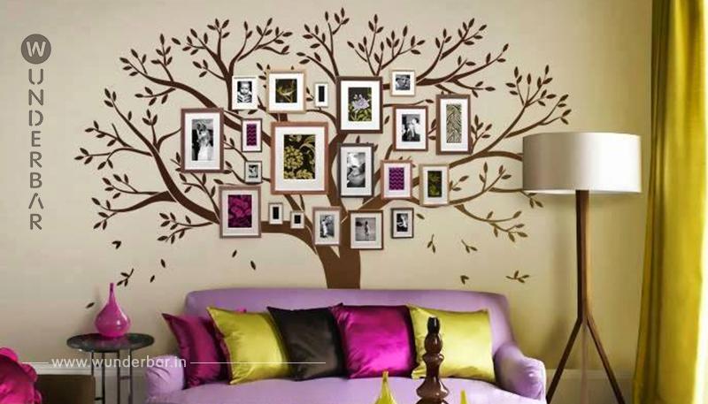 Verewigen Sie Familie an der Wand! Wunderschöne Stammbäume für die Wand!