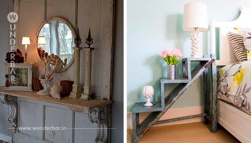 Basteln Sie mit alten, abgedankten Gegenständen wunderschöne Vintage Dekorationen!