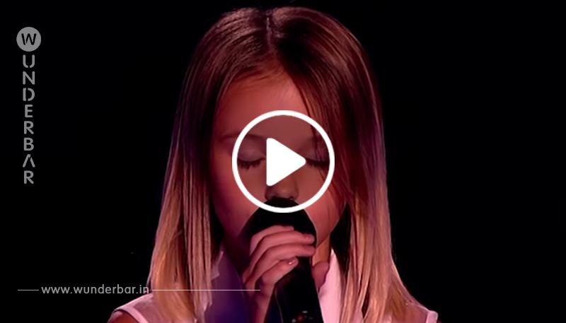 Mit einem gewagten Song versucht die Zehnjährige ihr Glück – 5 Sekunden später ist die Jury hin und weg