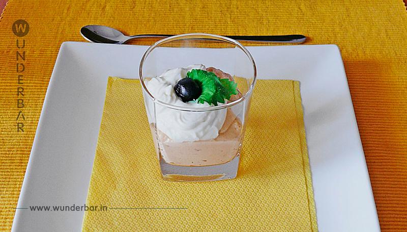 Schnelles Erdnussbutter   Schmand   Dessert