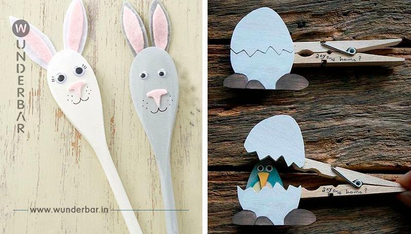 Voll gemütlich: Basteln mit Kindern! 11 einfache Bastelideen für Ostern!