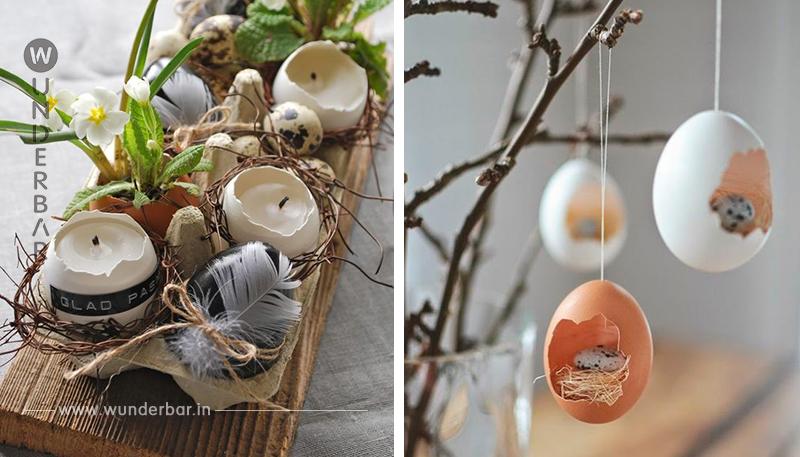 Schmücken Sie Ihr Wohnzimmer mit diesen schönen Osterideen. Diesen Tipp müssen Sie auch ausprobieren!
