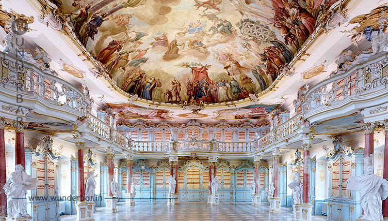 Die schönsten Bibliotheken Deutschlands
