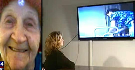 Oma fällt 'immer wieder aus dem Rollstuhl', darum installiert sie eine Kamera, um zu sehen, ob Krankenschwestern lügen