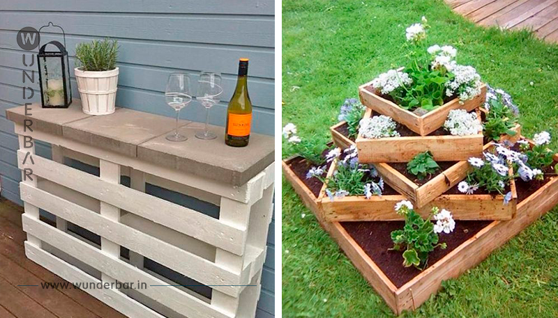 12 geniale Arten, wie man Palettenholz im Garten verwenden kann
