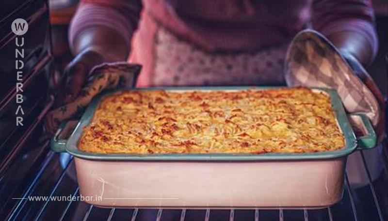 Schnitzelauflauf in Zwiebel Sahne Soße mit Käse – Schon überzeugt?