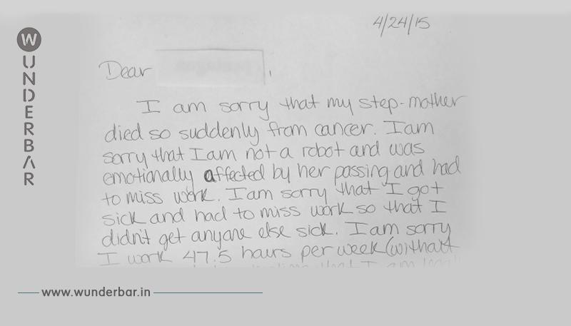 So rechnet junge Frau per Kündigungsbrief mit ihrem Chef ab.