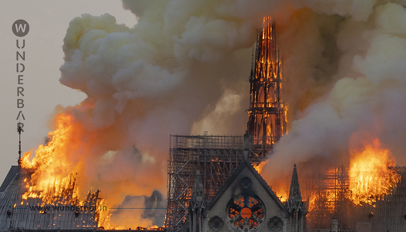 Bereits 310 Millionen € für Notre Dame gespendet