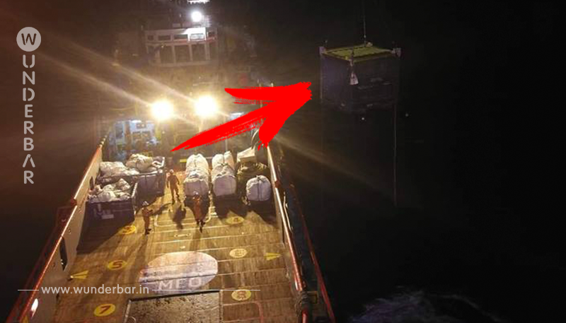 Schatten im Wasser: Arbeiter auf Bohrinsel brechen in Panik aus