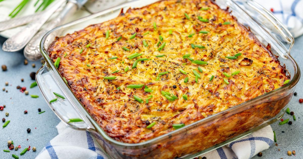 Schnitzelauflauf in Zwiebel-Sahne-Soße mit Käse – Schon überzeugt?