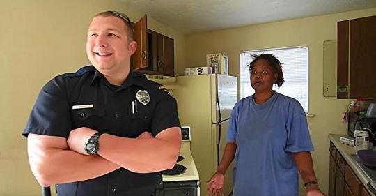 Frau klaute 5 Eier, um ihre Kinder zu versorgen, Polizist bringt ihr eine Wagenladung voller Lebensmittel anstatt sie zu bestrafen