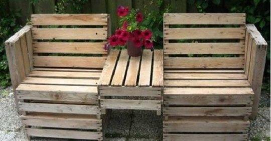 12 Super Ideen zum Selbermachen mit Paletten für einen sommerlichen Garten