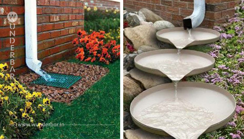Verwandeln Sie das öde Abflussrohr in Ihrem Garten in einen schönen Wasserfall! 12 faszinierende DIY Beispiele!