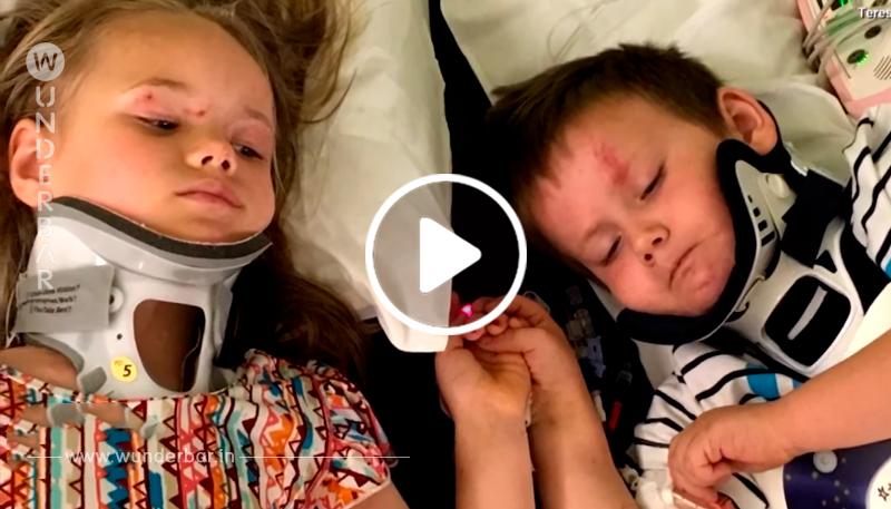 Verwaiste Geschwister treffen sich zum ersten Mal wieder nach dem ihre Eltern und ihre kleine Schwester bei einem Unfall umkamen