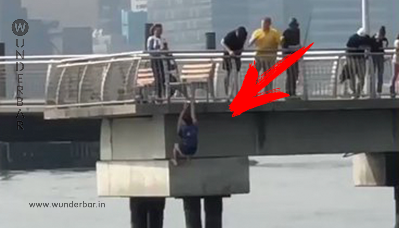 Drama in New York: Mann springt plötzlich von Brücke. Jetzt ist er ein Held!