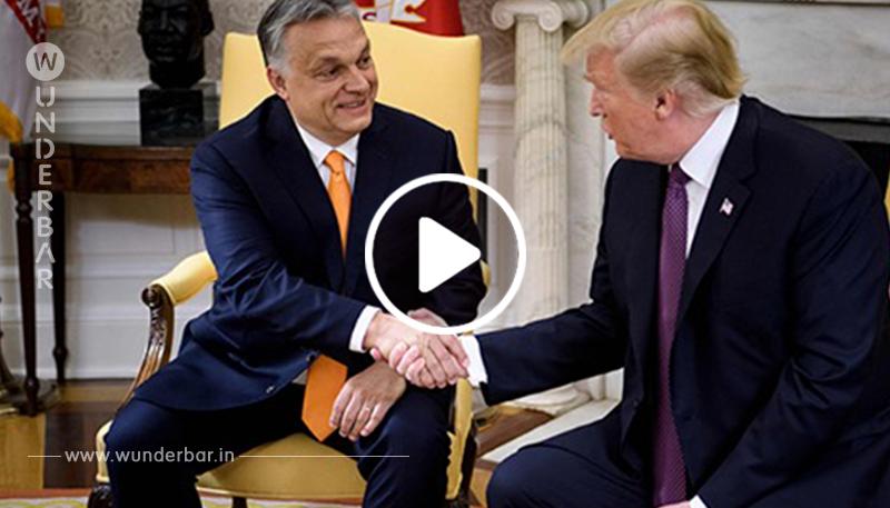 USA: Viel Lob für Orban bei Trump-Besuch
