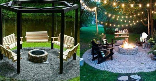 Während eines herrlichen und schwülen Sommerabends gibt es nichts schöneres, als rund um dem Feuer zu sitzen… 8 Gartenfeuerstelle-Ideen!