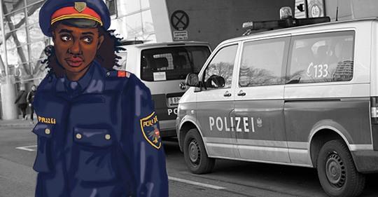 Wien: Vorzeige-Polizist mit Afro-Wurzeln Fall für die Justiz